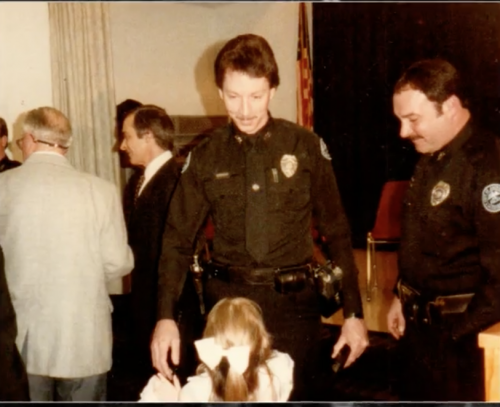Graduation from the Police Academy